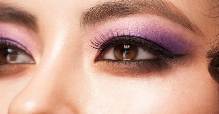 Tutorial Eye Makeup: Purple Sweetheart