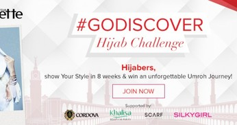 Hijab Challenge: Road to Umroh Bersama Clozette Indonesia