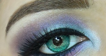 Tutorial Eye Makeup: Mesmerizing Blue