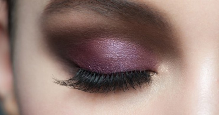 Foto Tutorial Eye Makeup: Champagne Plum