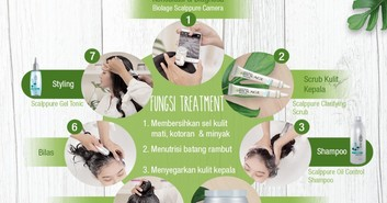 Biolage Hadirkan Servis Cool Therapy+++ di World Hijab Day 2020