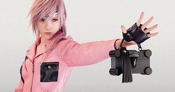 Lightning Final Fantasy untuk Louis Vuitton SS16