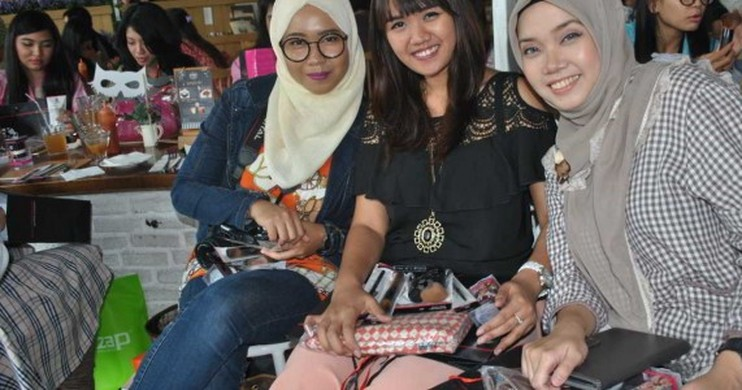 Foto Serunya Kumpul Bareng Beauty Blogger di Beauty Blogger Meet Up