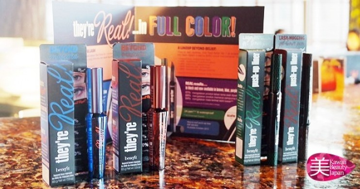 "Foto Tampil Berani dan Memesona dengan Benefit ""They're Real in Colors BEYOND BELIEF!"""
