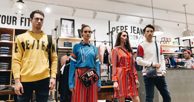 Foto Pepe Jeans London Buka Gerai di Mall Grand Indonesia