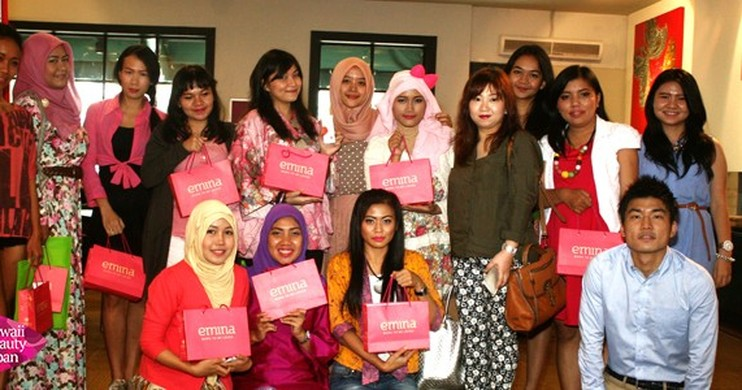 Foto Kawaii Beauty Japan Beauty Blogger Gathering Bersama ZAP, Emina Kosmetik, dan Heavenly Blush