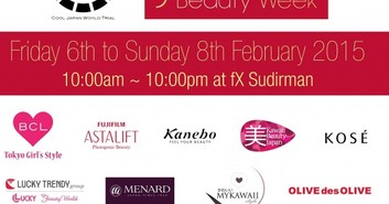 Ayo Datang ke Japan Beauty Week di fX Sudirman 6-8 Februari 2015