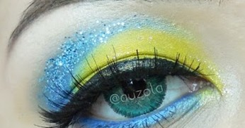 "Tutorial Eye Makeup: Inside Out ""Joy"""