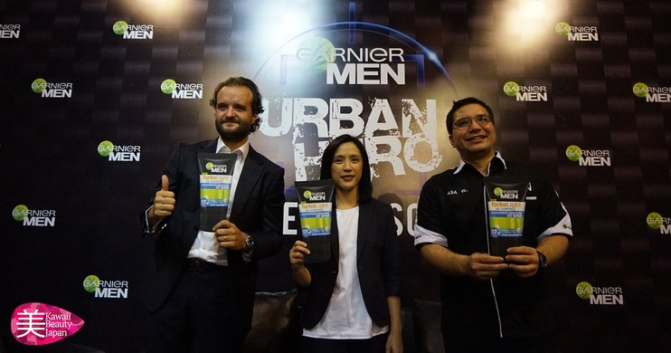 "Foto Urban Hero Hunt: Garnier MEN dan Joe Taslim Mencari The Next ""Urban Hero"""